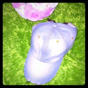 Cotton jeans hat